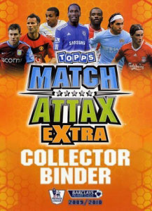 English Premier League 2009-2010. Match Attax Extra