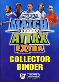 English Premier League 2008-2009. Match Attax Extra
