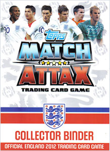 England 2012. Match Attax