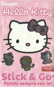 Hello Kitty Stick & Go. Portali sempre con te!