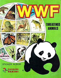 Panini WWF. Threatened Animals