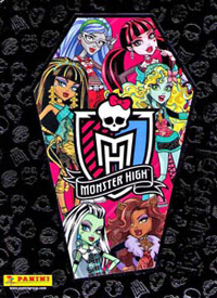 Panini Monster High Fearbook