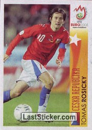 Tomas Rosicky - Ceska Republika (In Action)