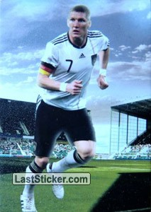 Bastian Schweinsteiger (The Midfielders)