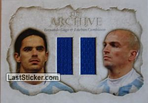 Esteban Cambiasso / Fernando Gago (The Archive Double)