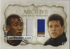 Jerome Boateng / Michael Ballack (The Archive Double)