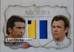 Gianluigi Buffon / Antonio Cassano (The Archive Double)