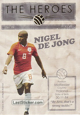 Nigel de Jong (The Heroes)