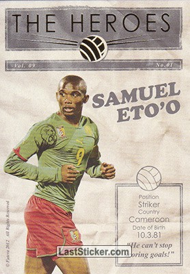 Samuel Eto'o (The Heroes)