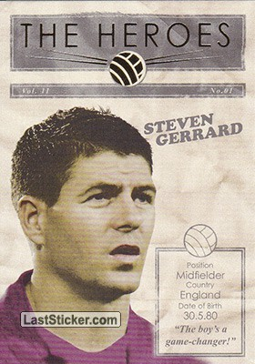 Steven Gerrard (The Heroes)