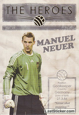 Manuel Neuer (The Heroes)