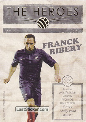 Franck Ribery (The Heroes)