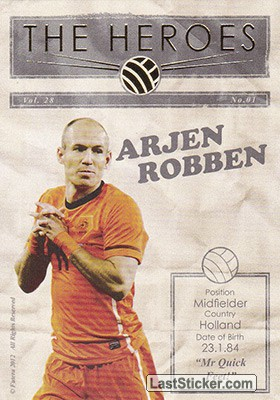 Arjen Robben (The Heroes)