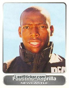 Faustino Asprilla (Your favourite top players)