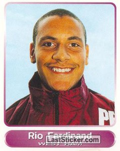 Rio Ferdinand (Your favourite top players)