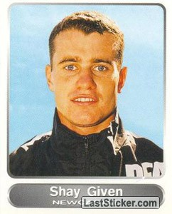 Shay Given (Your favourite top players)