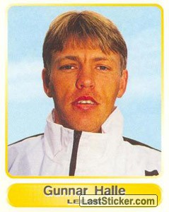 Gunnar Halle (Your favourite top players)