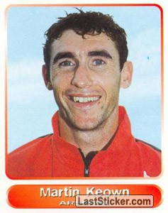 Martin Keown (Your favourite top players)