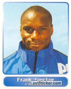 Frank Sinclair (Your favourite top players)