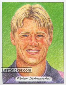 Peter Schmeichel (3D Glyptic stickers)