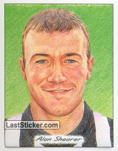 Alan Shearer (3D Glyptic stickers)