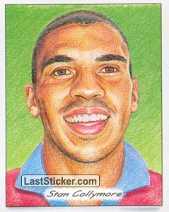 Stan Collymore (3D Glyptic stickers)