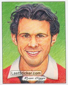 Ryan Giggs (3D Glyptic stickers)