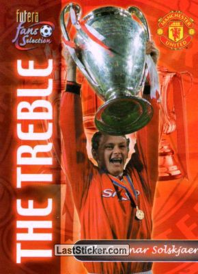Ole Gunnar Solskjaer (The Treble)