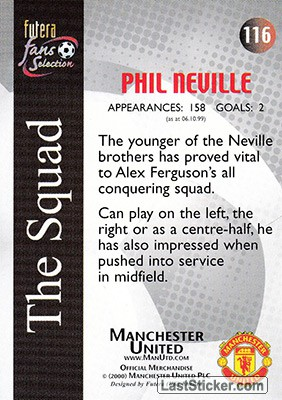 Phil Neville (The Squad) - Back