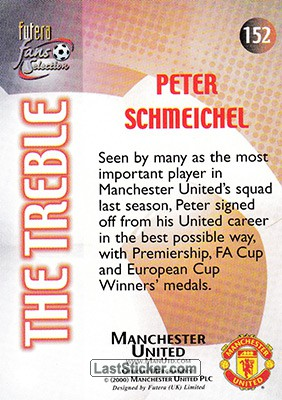 Peter Schmeichel (The Treble) - Back