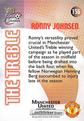 Ronny Johnsen (The Treble) - Back