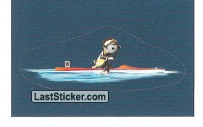 Mascot Sticker (Canoe - Sprint)