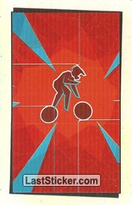 Pictogram Sticker (Cycling - BMX)
