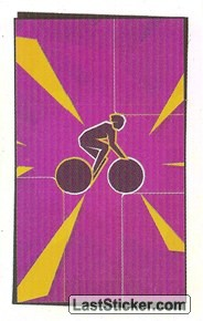 Pictogram Sticker (Cycling - Road)