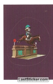 Mascot Sticker (Equestrian - Eventing)