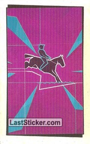 Pictogram Sticker (Equestrian - Eventing)