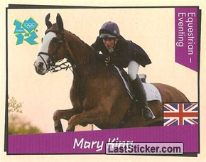 Mary King (Equestrian - Eventing)