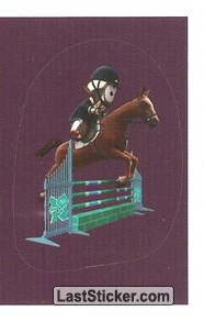 Mascot Sticker (Equestrian - Jumping)