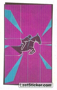 Pictogram Sticker (Equestrian - Jumping)