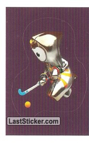 Mascot Sticker (Hockey)