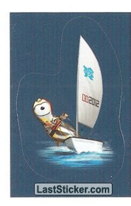 Mascot Sticker (Sailing)