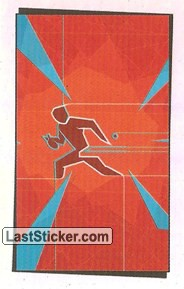 Pictogram Sticker (Table Tennis)