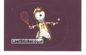 Mascot Sticker (Tennis / Wheelchair Tennis)