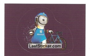 Mascot Sticker (Triathlon)