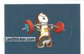 Mascot Sticker (Weightlifting / Powerlifting)