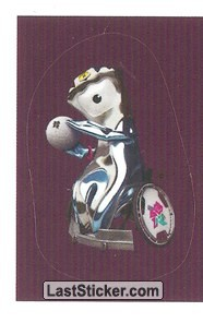 Mascot Sticker (Wheelchair Rugby)
