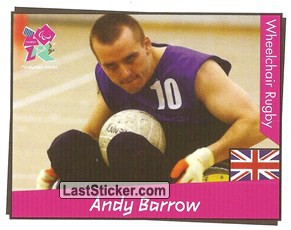 Andy Barrow (Wheelchair Rugby)