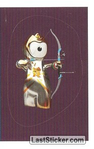 Mascot Sticker (Archery)