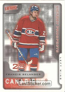 Francis Belanger (Montreal Canadiens)