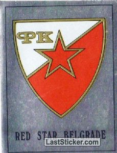 Red Star Belgrade Badge (Europe's Finest)